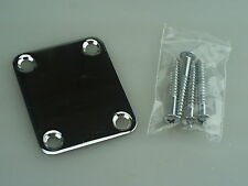 2004 Axl Player Deluxe FAT Strat Neckplate Neck Plate w/screws 0203