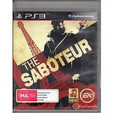 PLAYSTATION 3 SABOTEUR, THE PS3 AUSTRALIAN SELLER & RELEASE DUAL SHOCK 3 [LN]