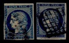 2 Teintes de CERES n°4 = Cote 130 € / Lot Classiques France