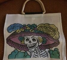 Day Of The Dead Bag Purse Skull Punk Rockabilly Pinup ModCloth Urban