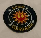 Embroidered Star Wars Rogue Squadron Emblem Iron On Patch