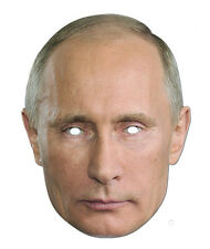 Vladmir Putin Celebrity 2D TESSERA PARTITO Face Mask Fancy Dress Up Presidente russo
