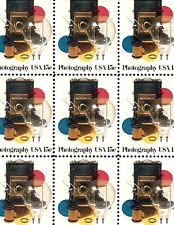 1978 - PHOTOGRAPHY - #1758 Full Mint -MNH- Sheet of 40 Postage Stamps