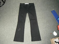 "Next Bootcut Size 8 Leg 28"" Black Faded Ladies Jeans"