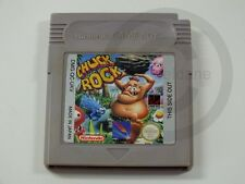 GAMEBOY CLASSIC GAME Chuck Rock ENGLISH, used but GOOD