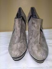 Gabriella Rocha Women's 8M Taupe Ankle hight heel Boots pre-owned