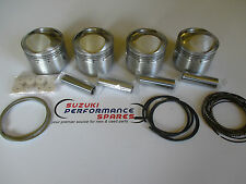 Suzuki GS1000 MTC 71mm Hi Comp Forged pistons, set 4 complete with pins/rings