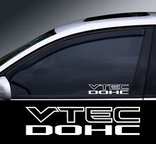 2 X Vtec Window Decal Sticker Gráfico * Color Elección * (2)