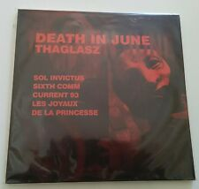 THAGLASZ 6 Book+CD 200x Death In June Sol Invictus Current 93 LJDLP Sixth Comm