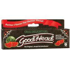 1 GOODHEAD Watermelon oral delight sex flavored gel doc johnson good head