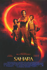 Sahara Original Double-Sided One Sheet Rolled Movie Poster 27x40 NEW 2005