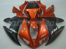 Glossy Orange Black Injection Molded Fairing Fit for YAMAHA 2002 2003 YZF R1 n05