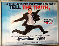 Cinema Poster: INVENTION OF LYING 2009 (Quad) Ricky Gervais Tina Fey Rob Lowe