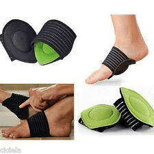 1Pair Strutz Cushioned  Arch Foot Support Helps Decrease Plantar Fasciitis Pain