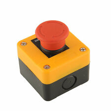 HOT Red Sign Not schalter Stop Button Actuator Schalten Wetter 660V 10A