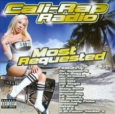 Zz/Various Artists - Cali Rap Radio Most Requested (2007) - Used - Compact