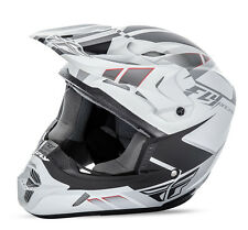 Fly Racing Kinetic Impulse MX motocross helmet matte white adult Large 73-3361L