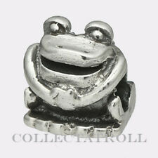 Authentic Trollbeads Sterling Silver Frog Trollbead 11307