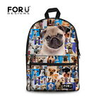 Fashion Animal Pet Dog Backpack Men/Women Travel Bag Boys Girls School Rucksack