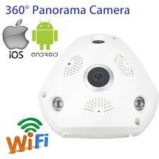 360° IP Cámara 960P HD WIFI CCTV inalámbrico Webcam bebé Monitor For Phone White