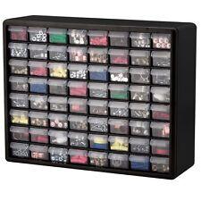 64 Drawer Plastic Parts Hardware Organizer Storage Cabinet Bin Craft Beads USA