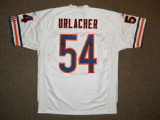 Brian Urlacher Chicago Bears White Authentic Jersey by Reebok sz 52 New HOF CHI