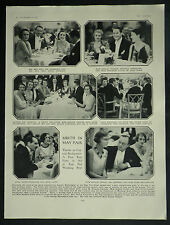 Capt Buckmaster High Society Party May Fair Hotel London 1930 Page Photo Article