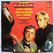 """12"""" 33 RPM MONO LP - RCA VICTOR LPM-3475 - MAN FROM U.N.C.L.E. - TV SOUNDTRACK"""