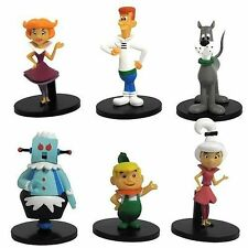 Hanna Barbera The Jetson's 6 Figure Set George Judy Elroy Astro Dog Rosie Jane 2