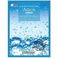 3 Pcs Aqua Lebelage Natural Mask Facial Essence Sheet Pack Korea Beauty