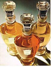 PUBLICITE ADVERTISING 064  1969  JEAN D'ALBRET    gamme de parfums