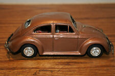 Vintage Bandai Friction VW Bug B Sign of Quality Made In Japan Tin Toy Vehicle..