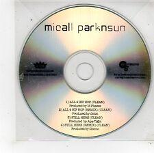 (FU313) Micall Parknsun, All 4 Hip Hop - DJ CD