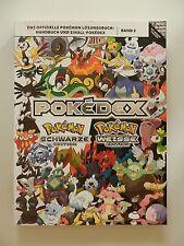 Pokedex Pokemon schwarze weisse Edition Band 2 Lösungsbuch Handbuch