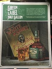 Vintage Jack Daniels Squatty 1/2 Gallon Green  File Advertising Photo - Rare