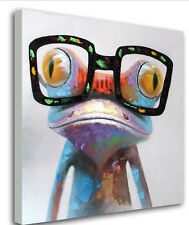 NOT FRAMED Canvas Prints Banksy Happy Frog Home Decor Wall Art Pictures Abstract