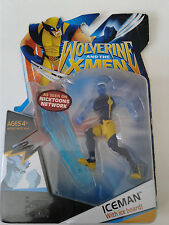 "MARVEL WOLVERINE AND THE X-MEN ICEMAN WITH ICEBOARD 4"" ACTION FIGURE HASBRO 2009"