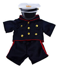 "Marines Uniform Outfit Teddy Bear Clothes Fits Most 14-18"" Build-A-Bear and More"