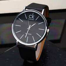 Top Fashion Business CK calvin klein Watches Men / Women Leather Wristwatches