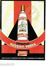 PUBLICITE ADVERTISING 116  2008  la Vodka Stolichnaya  original Russian Vodka