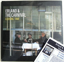 ERLAND & THE CARNIVAL LP Closing Time SEALED 2014 Vinyl Album + Promo Info Sheet