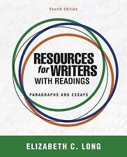 Resources for Writers with Readings Plus MyWritingLab with Pearson EText...