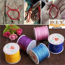 10 Meter Nylon Cord Thread Chinese Knot Macrame Rattail Bracelet Braided String1