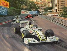 2009 Monaco Grand Prix, Brawn GP Button door Michael Turner