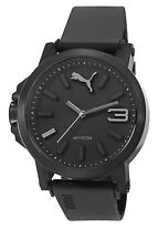 Puma Ultrasize 45 Unisex Quartz Watch with Black Dial Analogue Display and Bl...