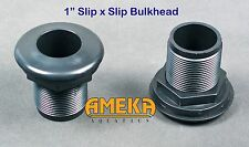 "1"" Bulkhead Fitting Slip X Slip Aquarium Pond High Quality Silicone Washer"