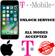 T-MOBILE IPHONE 6 6s 6+ 5 5s FACTORY UNLOCK SERVICE CLEAN FINANCED INACTIVE ONLY