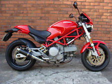 Ducati Monster 620 01-06 Sp de ingeniería de fibra de carbono Stubby Moto Gp Escapes