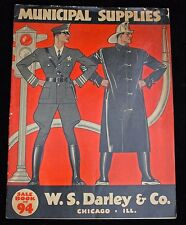 Fantastic Mid-1930s Police & Fire Supplies Catalog #94 Darley & Co., Chicago, IL