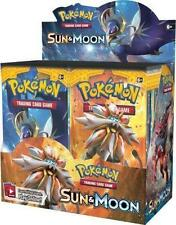 Pokemon TCG: Sun and Moon Half Booster Box - 18 Booster Packs - Priority Mail
